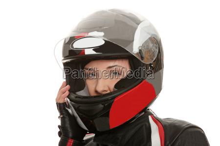 biker maedchen