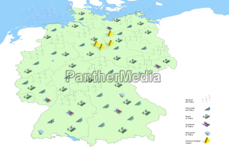 prognose der energieerzeugung in deutschland im