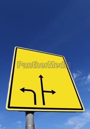texture road sign