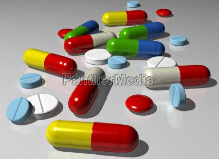 kapseln und pillen
