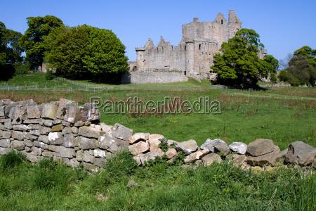 craigmillar castle edinburgh schottland