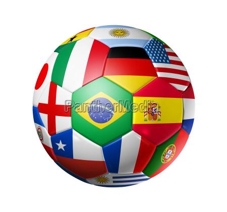 balon de futbol de futbol con