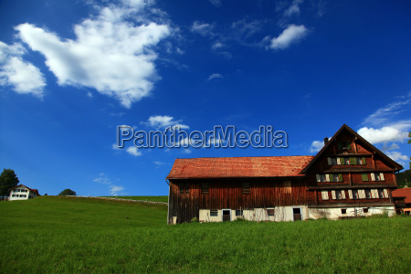 bauernhof im appenzellerland appenzell schweiz