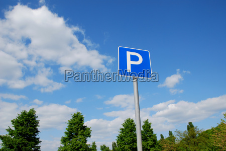 parking in the countryside