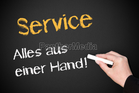 service everything from one source