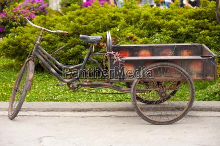 chinesische dreiraedrige lieferung fahrrad