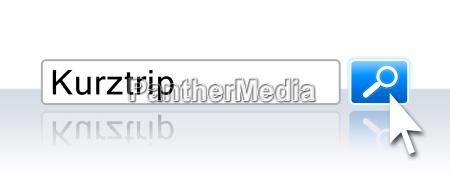 internet suche blau kurztrip