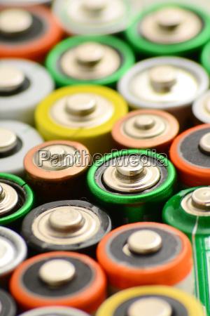energie strom elektrizitaet abfall batterie wiederverwertung