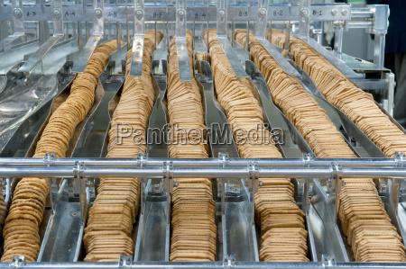 herstellung von keksen