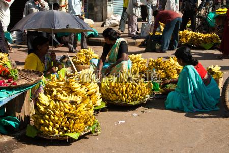 markt in karnataka indien