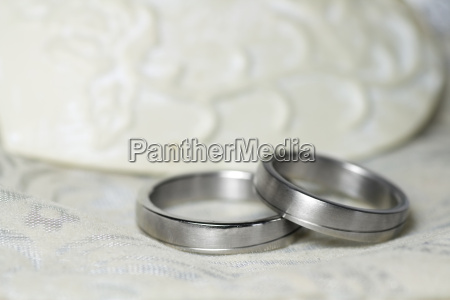 wedding rings silver