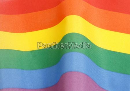 kampf kaempfen fahne regenbogen frieden flagge