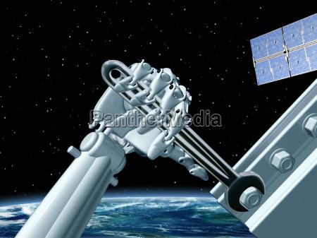 space station maintenance