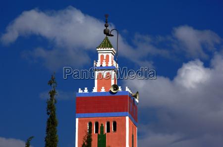 minarett in marokko