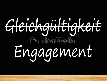 gleichgueltigkeit und engagement