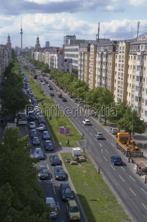 main street in berlin