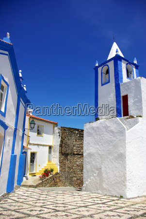 street of alegrete village portalegre portugal