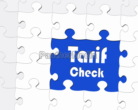 tariff check