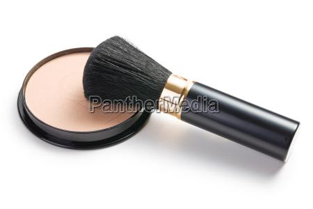 colore femminile spazzola polvere cosmetici cosmesi