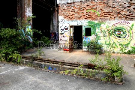 graffiti an einer wand