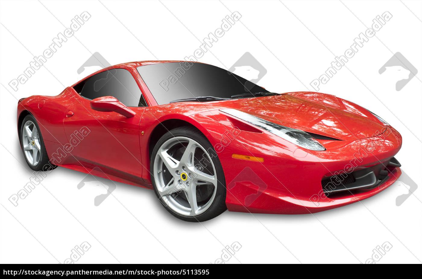 sportwagens, isoliert - 5113595