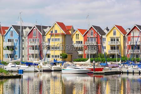 greifswald hafen haeuser greifswald harbour