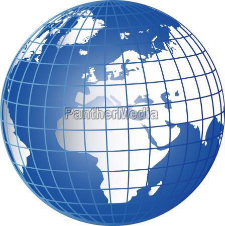 globus europa afrika