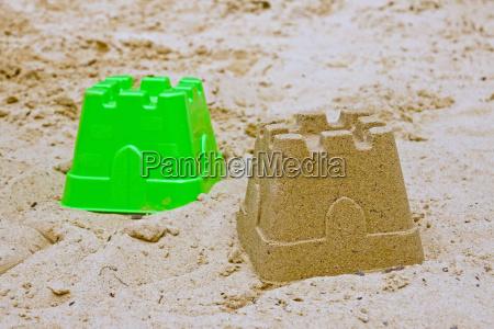 sandburg mit form
