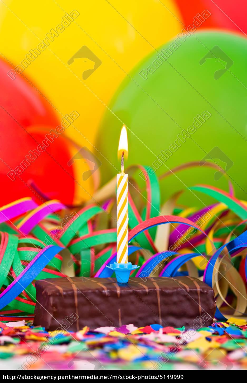 kleiner Geburtstagskuchen - Lizenzfreies Bild - #5149999 ...