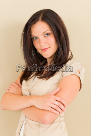 business woman attractive casual portrait