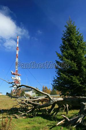 antenne am berg