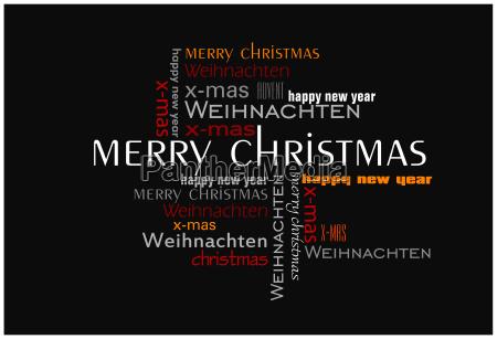 weihnachtskarte text