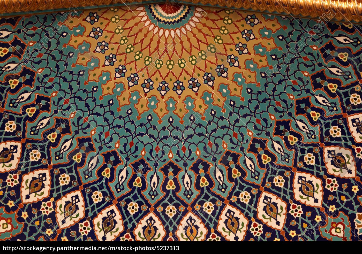 orientalische mosaik ornamente stockfoto 5237313 bildagentur panthermedia. Black Bedroom Furniture Sets. Home Design Ideas