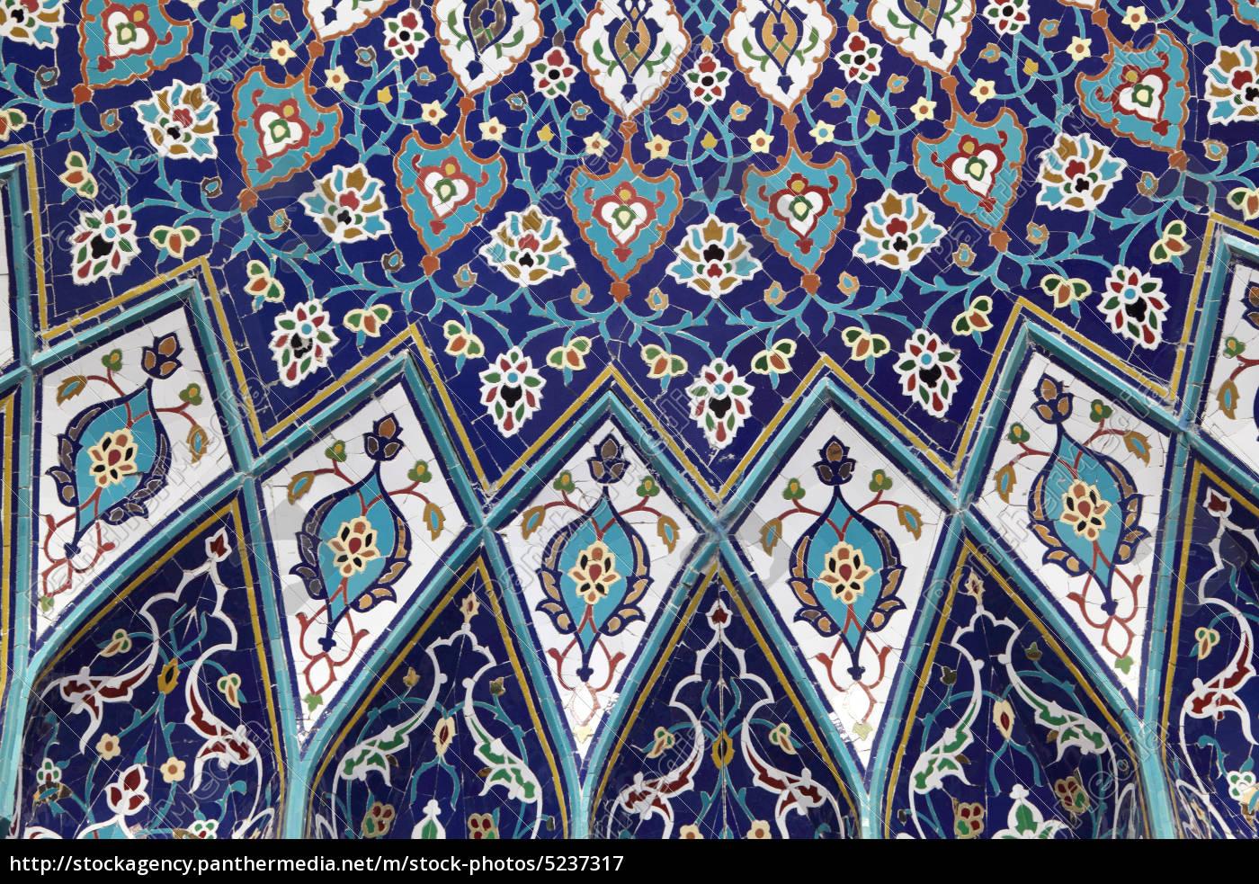 orientalische mosaik ornamente lizenzfreies bild. Black Bedroom Furniture Sets. Home Design Ideas