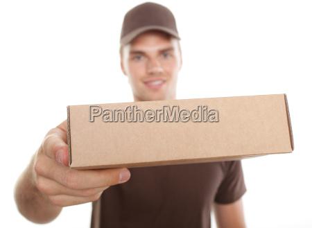 paketzustellung