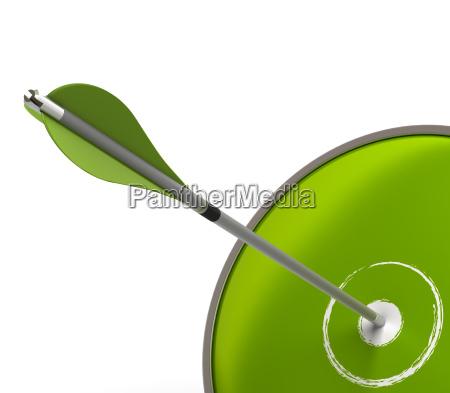 green business success concept