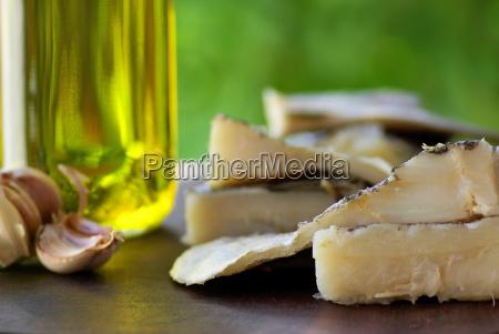 codfish oil and garlic