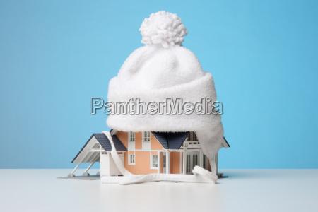 heat insulation of house
