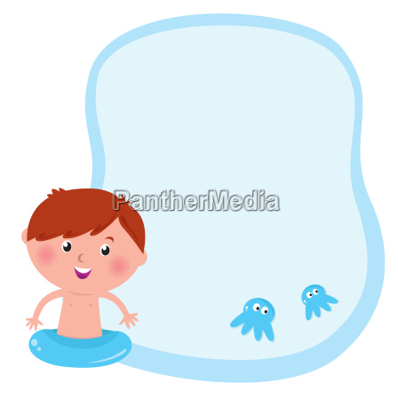 blank template banner for kids