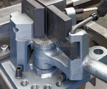bending tool in close up