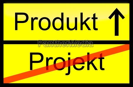 projekt produkt