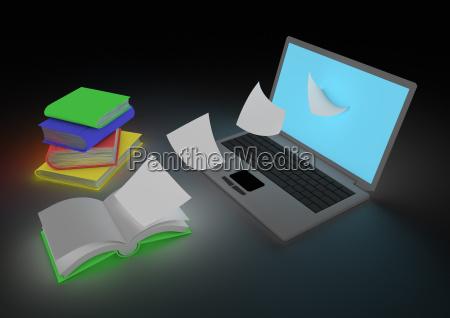 buchkonzept digitalisieren