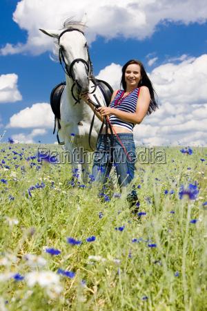pferdesport, mit, einem, pferd, auf, der - 5380451