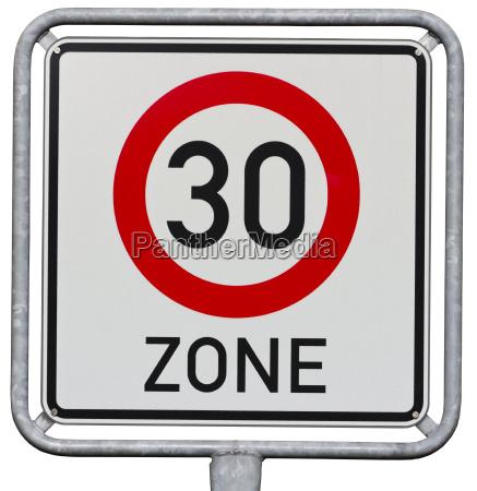 german, traffic, sign - 5392983