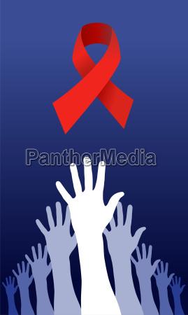 versucht eine aids loesung zu erreichen