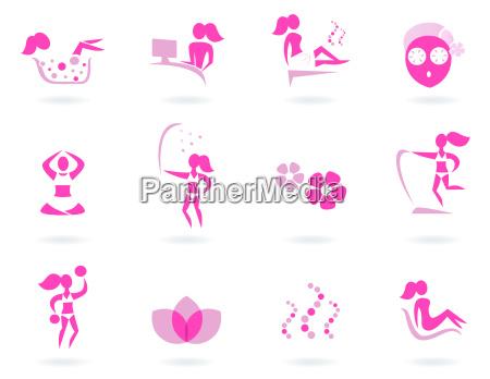 pink spa wellness amp sport female