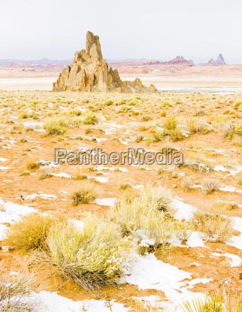 winterlandschaft von arizona usa