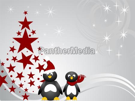 penguin weihnachten