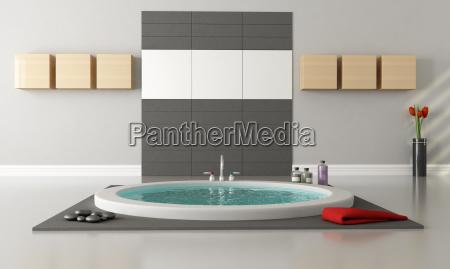 minimalistischen luxus badezimmer