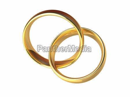 gold hochzeit ringe zusammen